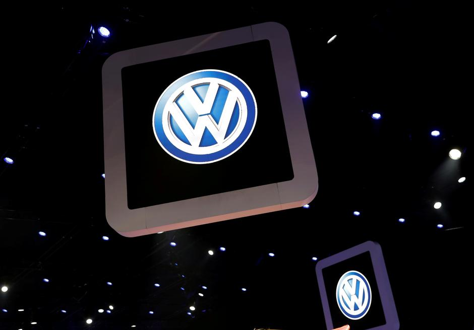 File Photo Volkswagen Logos Are Pictured During The Media Day Of Salao Do Automovel International Auto Show In Sao Paulo Brazil November 6 2018