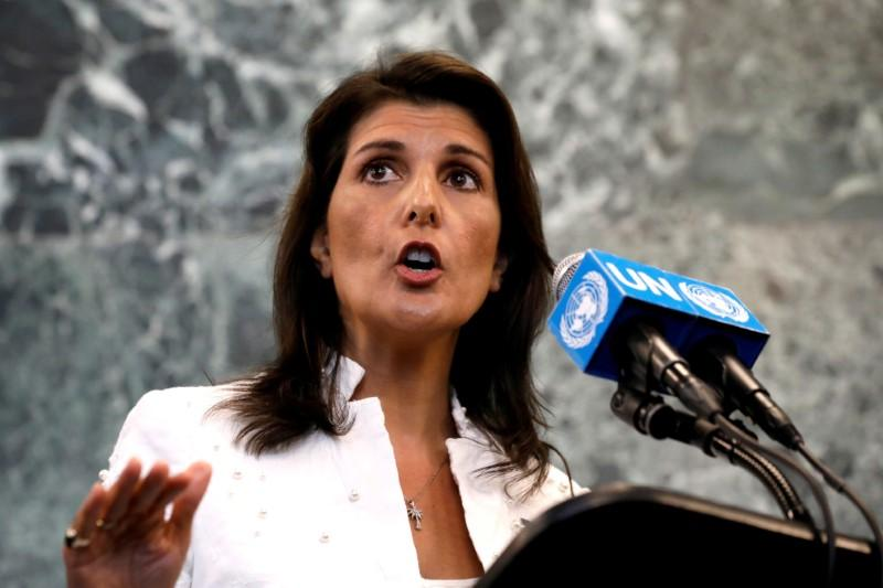 U.S. Ambassador Haley: Russia wants to lift bank restrictions on...