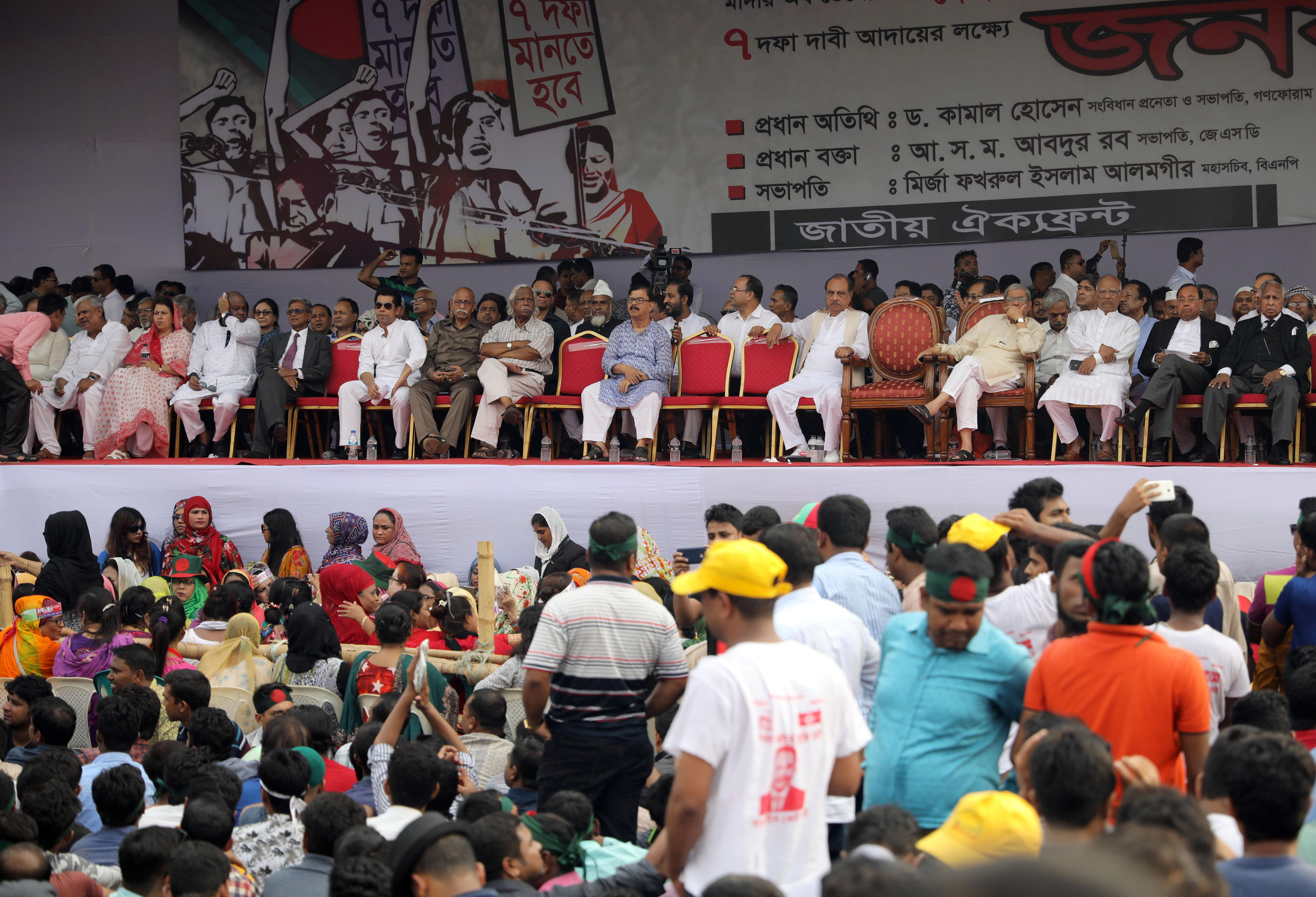 Bangladesh opposition parties including BNP to contest