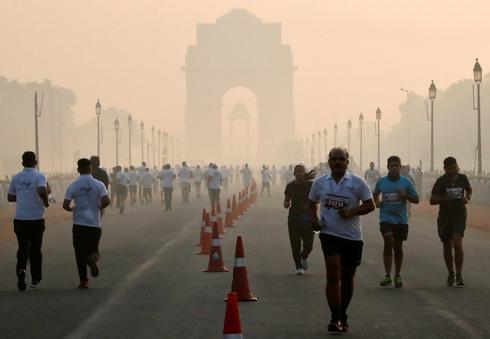 Smog season in north India