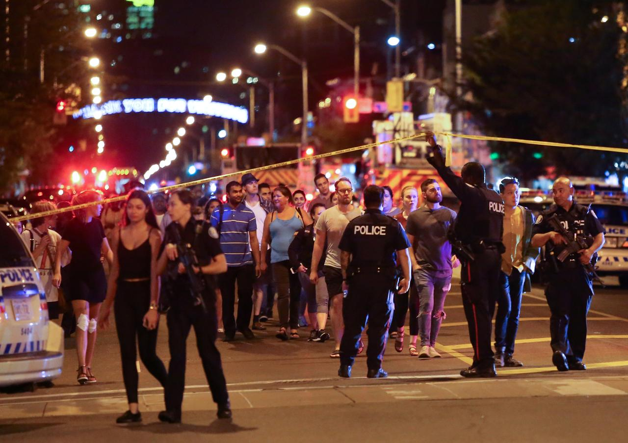 Canada's murder rate hits near 10-year high in 2017 on gun