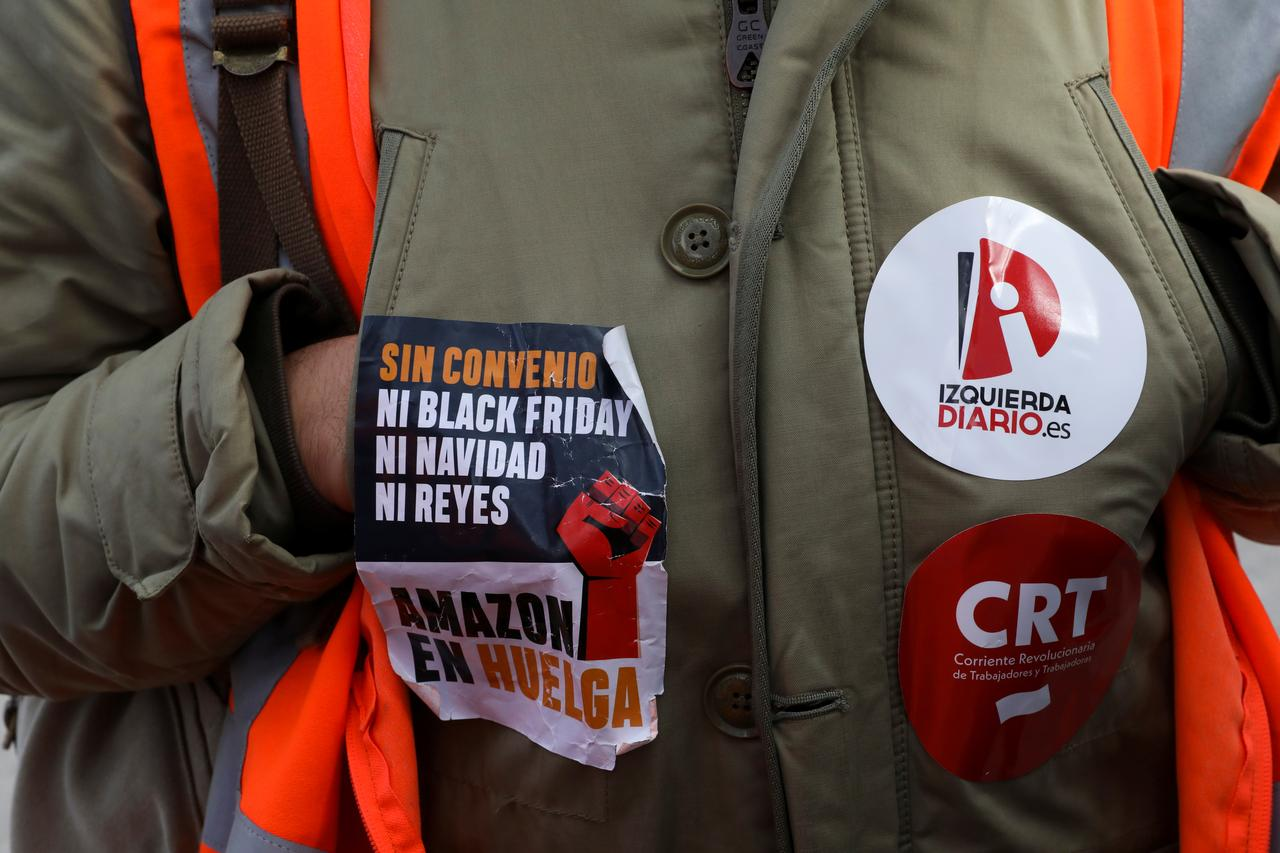 Amazon Workers Strike In Germany Spain On Black Friday Reuters
