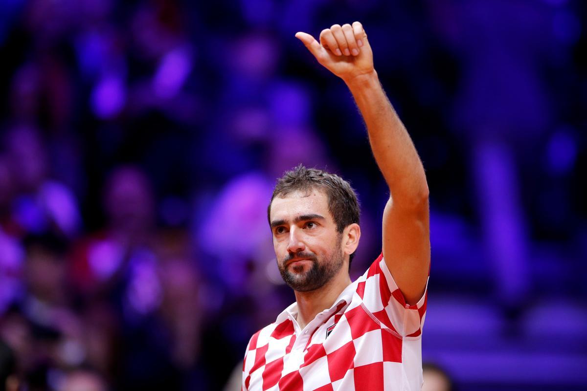 テニス=クロアチアが王者フランスに王手、デ杯決勝第1日