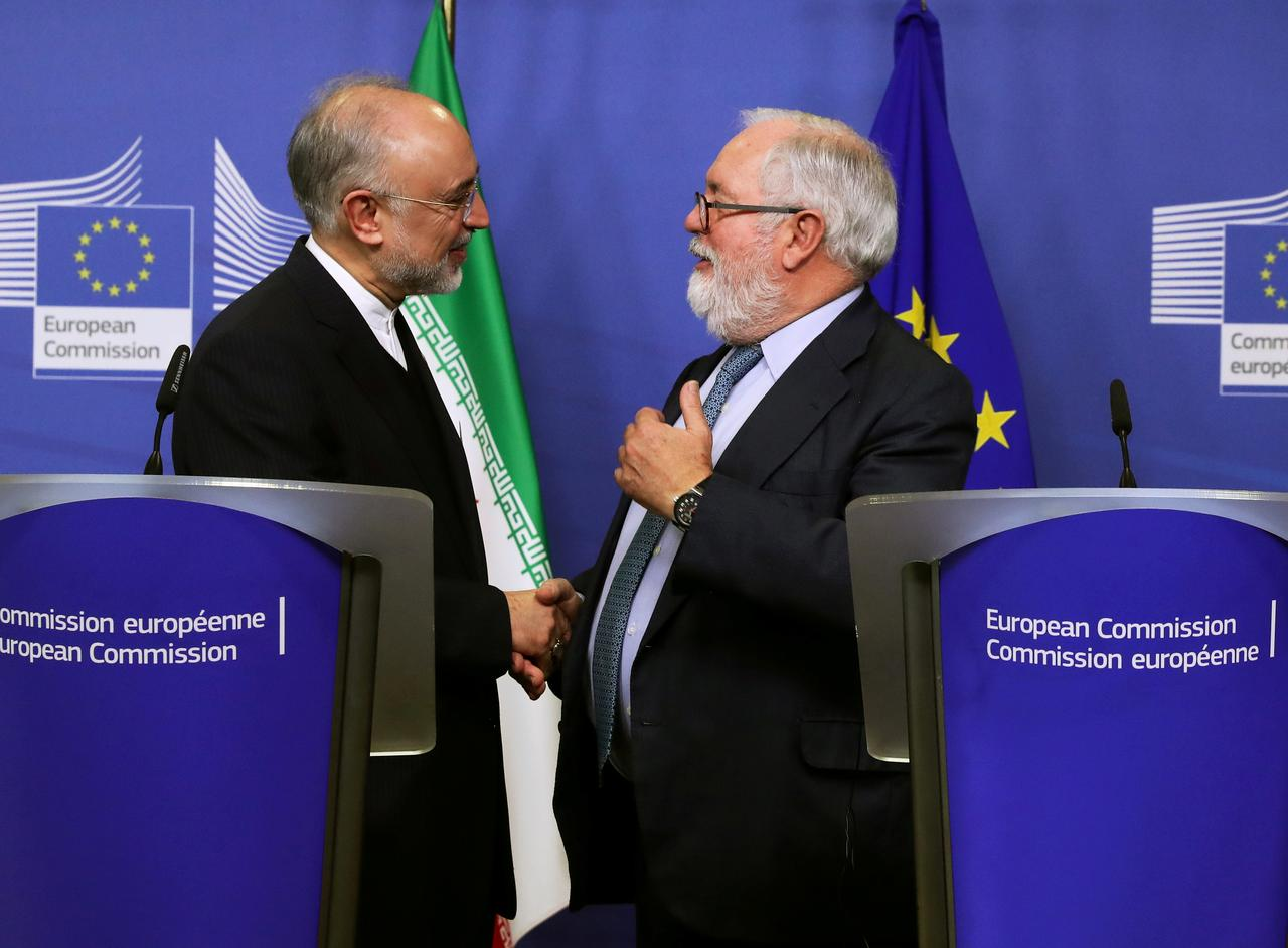 France, Germany taking charge of EU-Iran trade move but oil sales in