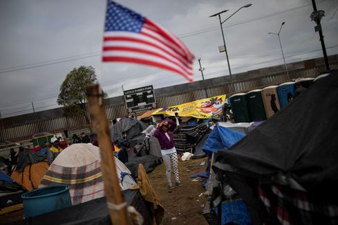Migrants in Tijuana live in dire conditions