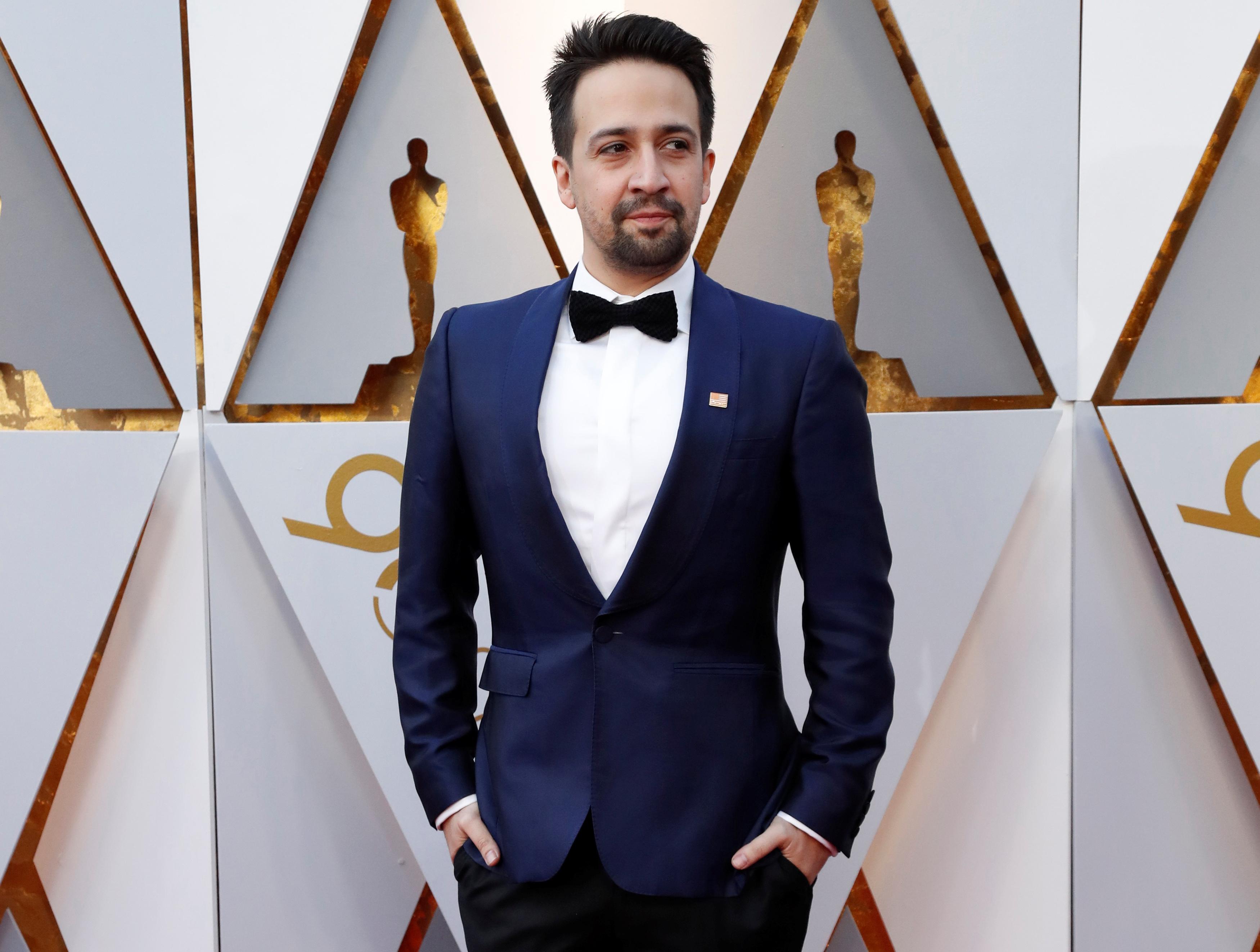 Hamilton' creator Lin-Manuel Miranda raps way to Hollywood