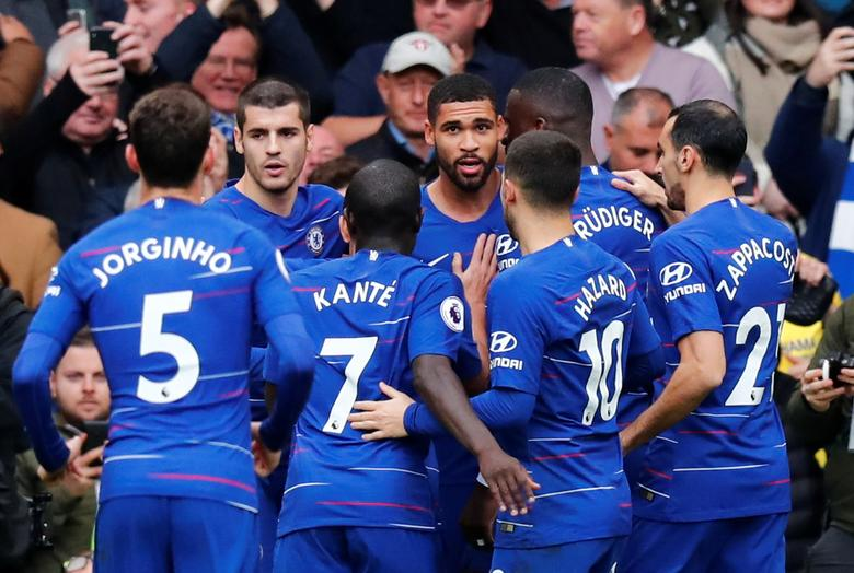 Chelsea Beat Fulham 2 0 With Goals From Pedro And Loftus Cheek Reuters Com