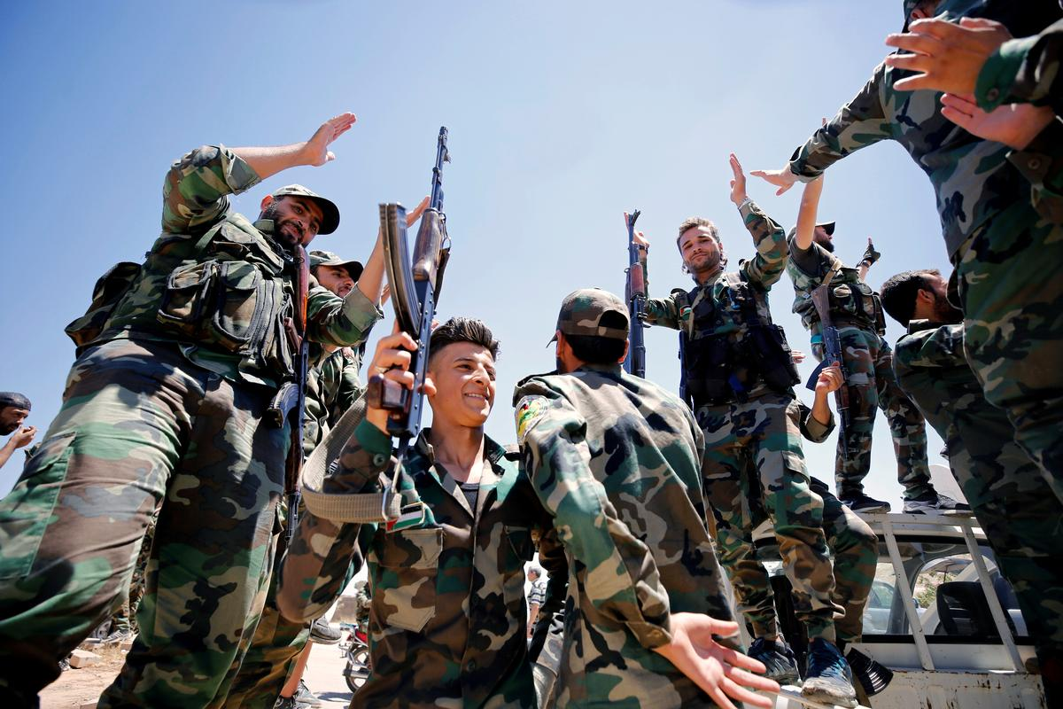 Syrian army demobilises some conscripted, reservist officers