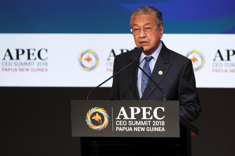 Malaysia's Mahathir says no rights to recognize Jerusalem as...