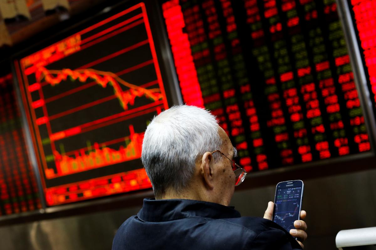 Asian shares perk up ahead of key policy events in China, U.S.