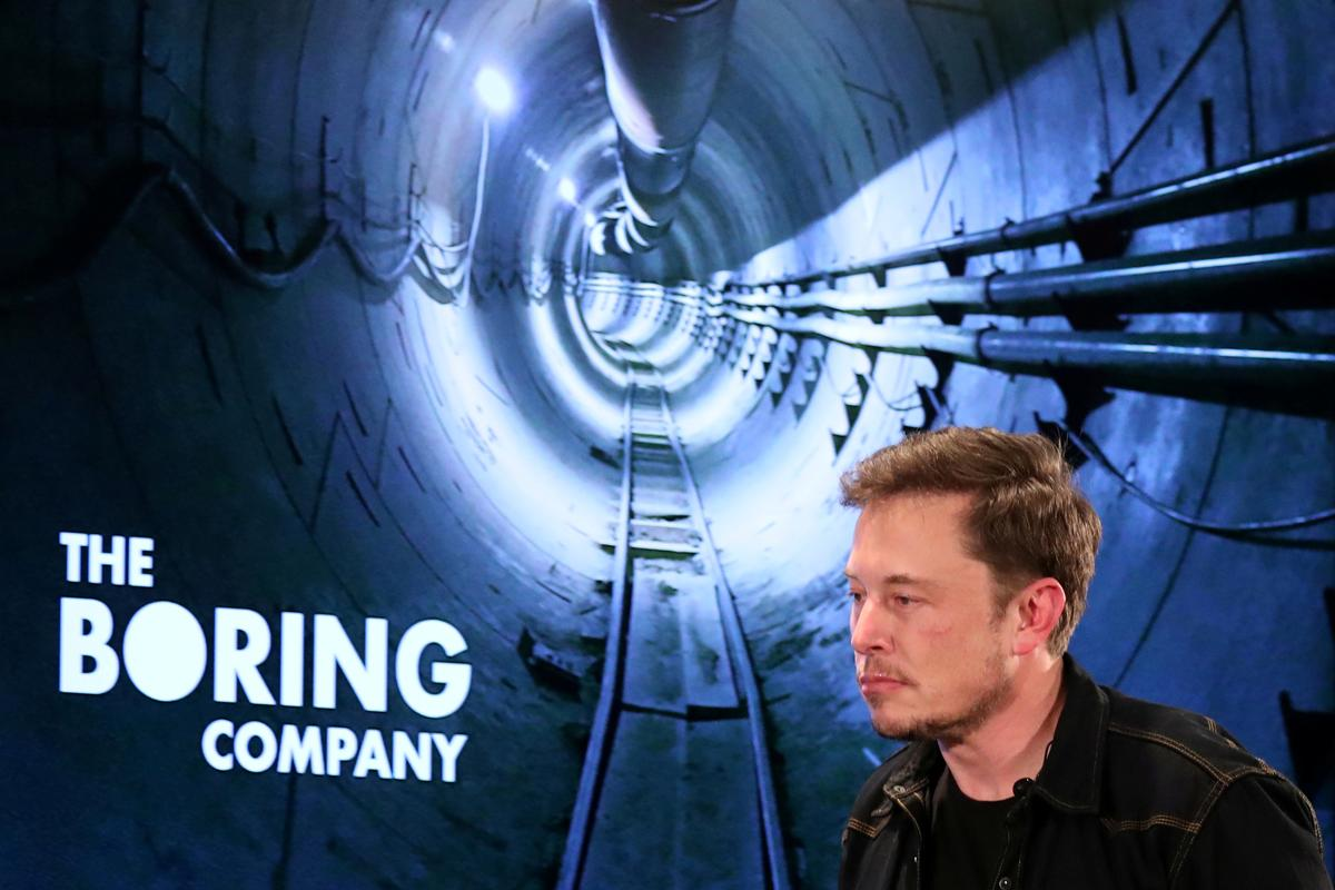 Elon Musk's Boring Company Set to Unveil its First Los Angeles-area Tunnel