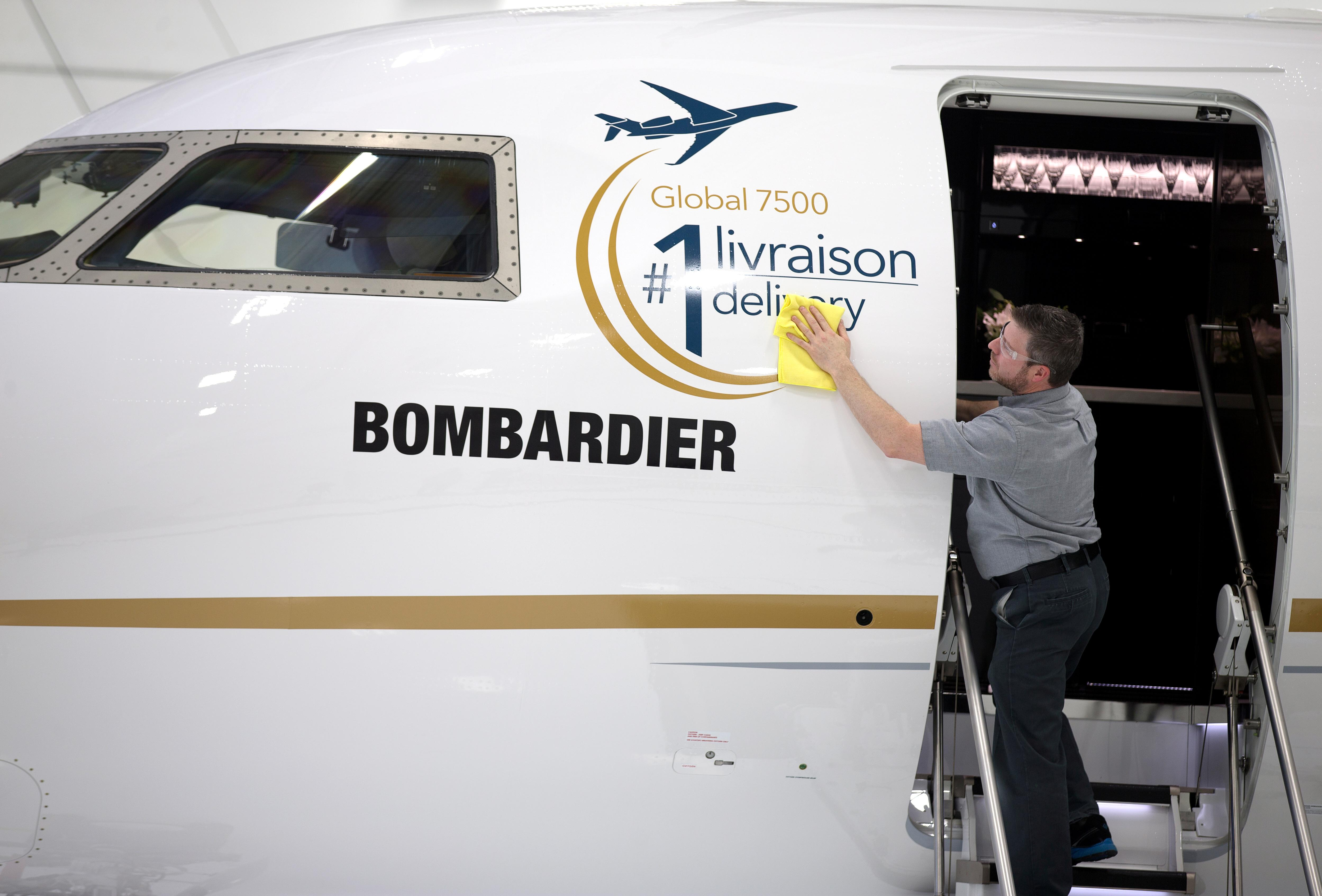 Sensational Bombardier Delivers Global 7500 Jet As Corporate Travel Race Machost Co Dining Chair Design Ideas Machostcouk