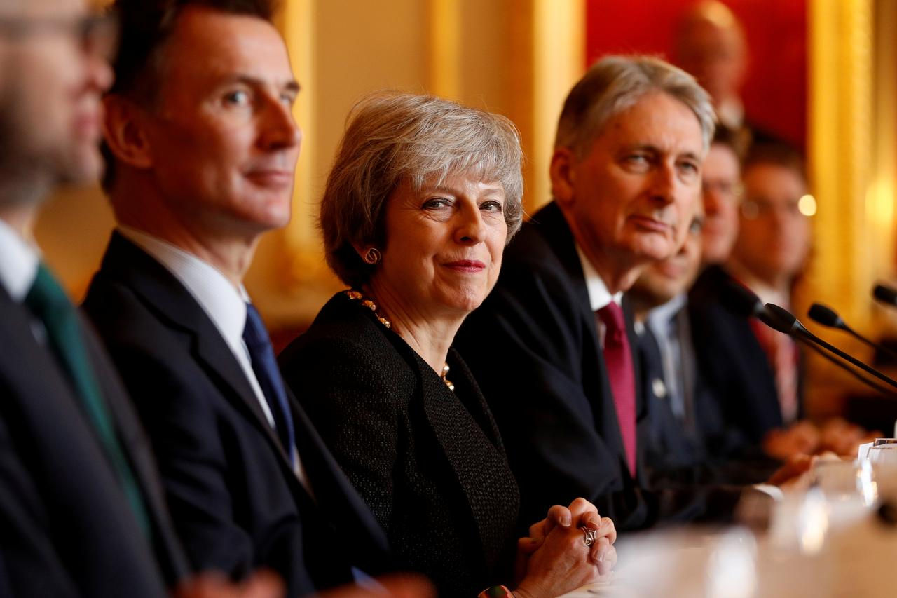 Image result for UK ministers focused on getting Brexit deal through parliament, May says