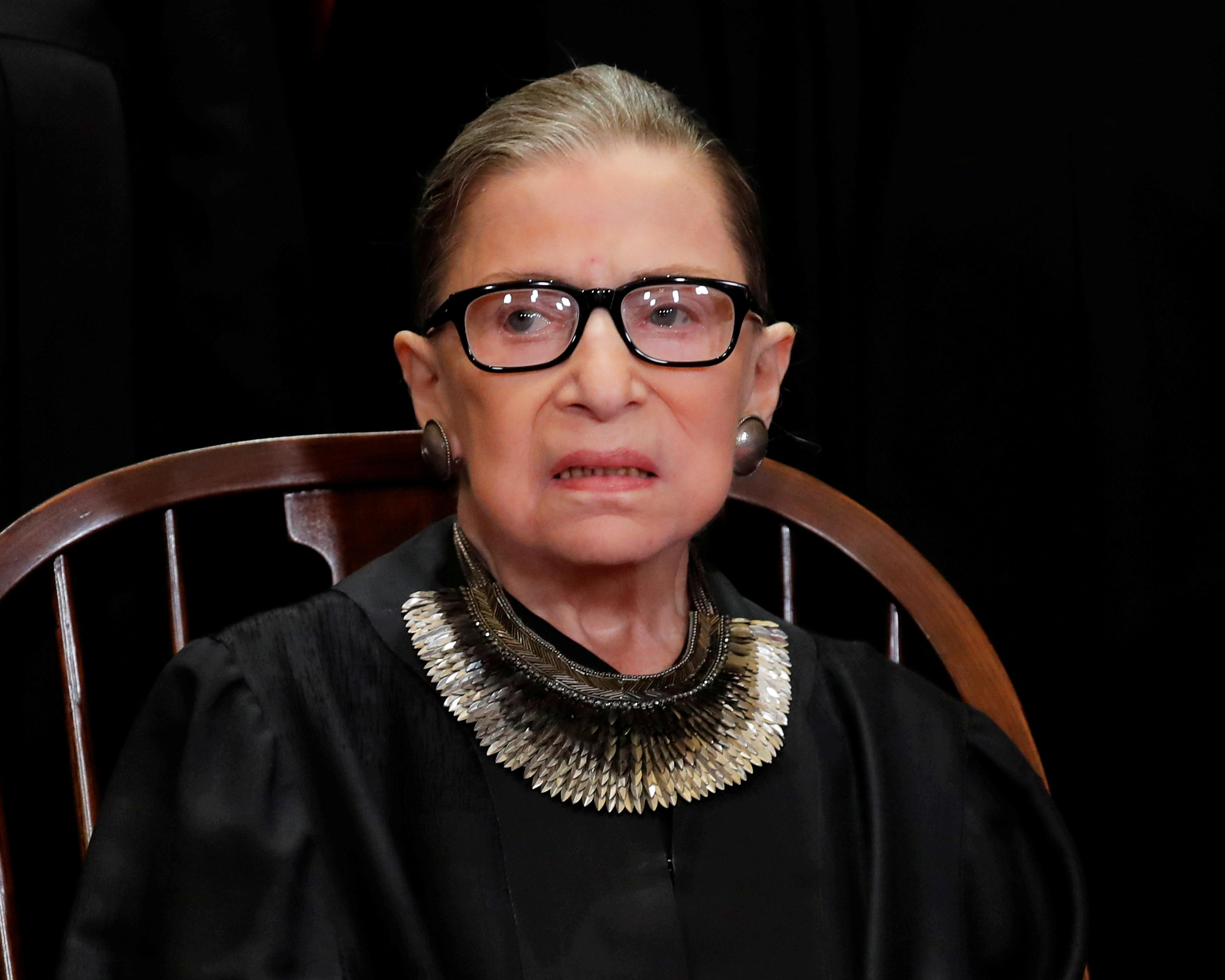 U.S. Justice Ginsburg, 85, has malignant nodules removed from lung