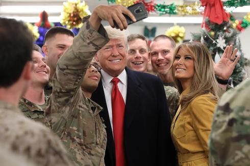 Trump makes surprise visit to Iraq