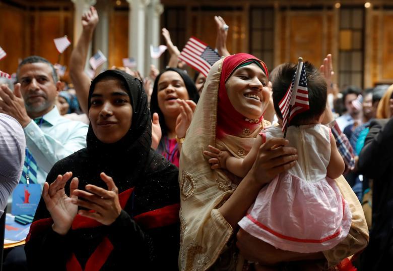 Becoming American | Reuters com