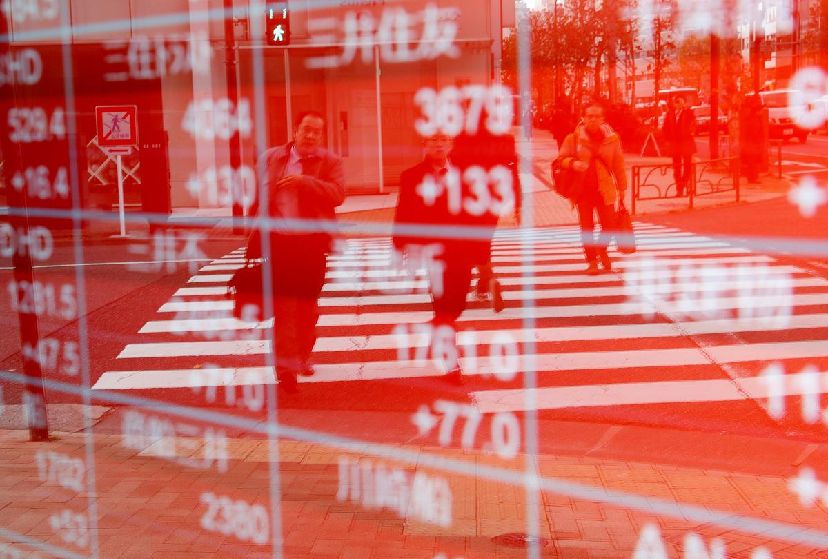 China gains cushion Asian shares after Apple jolt; flash crash hits currencies