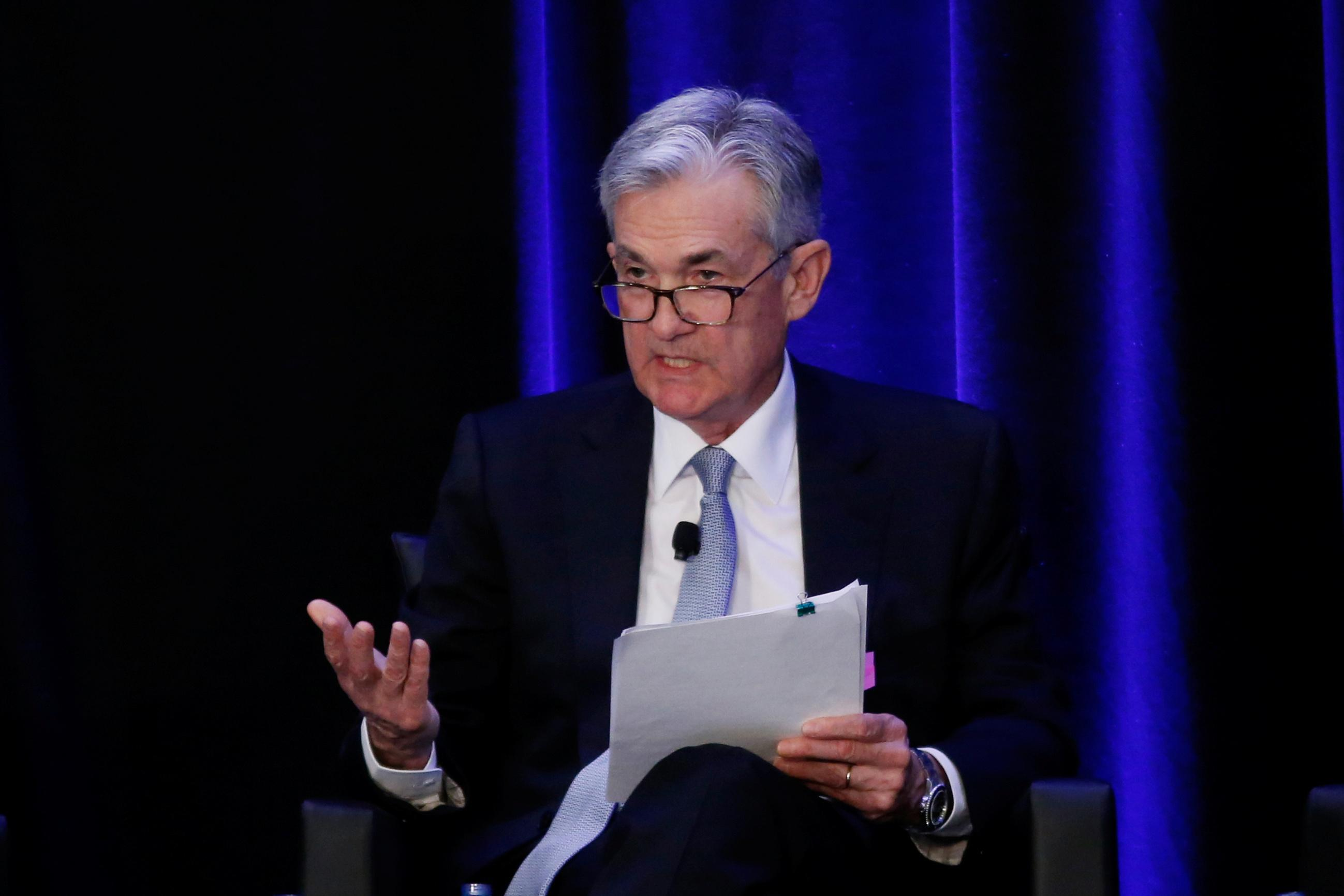 Instant View: Powell pledges patience; says won't quit if Trump asks