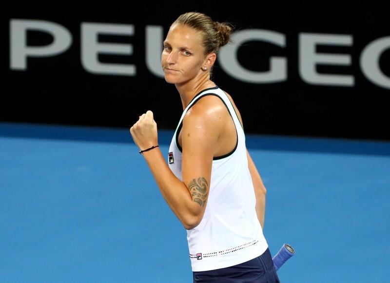 WTA roundup: Pliskova into Brisbane semis