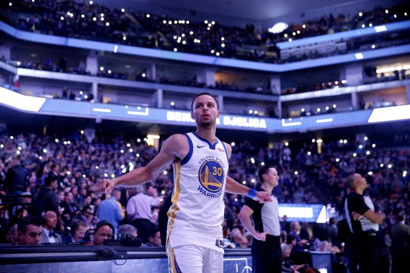 NBA roundup: Curry, Warriors win 3-pointer battle with Kings