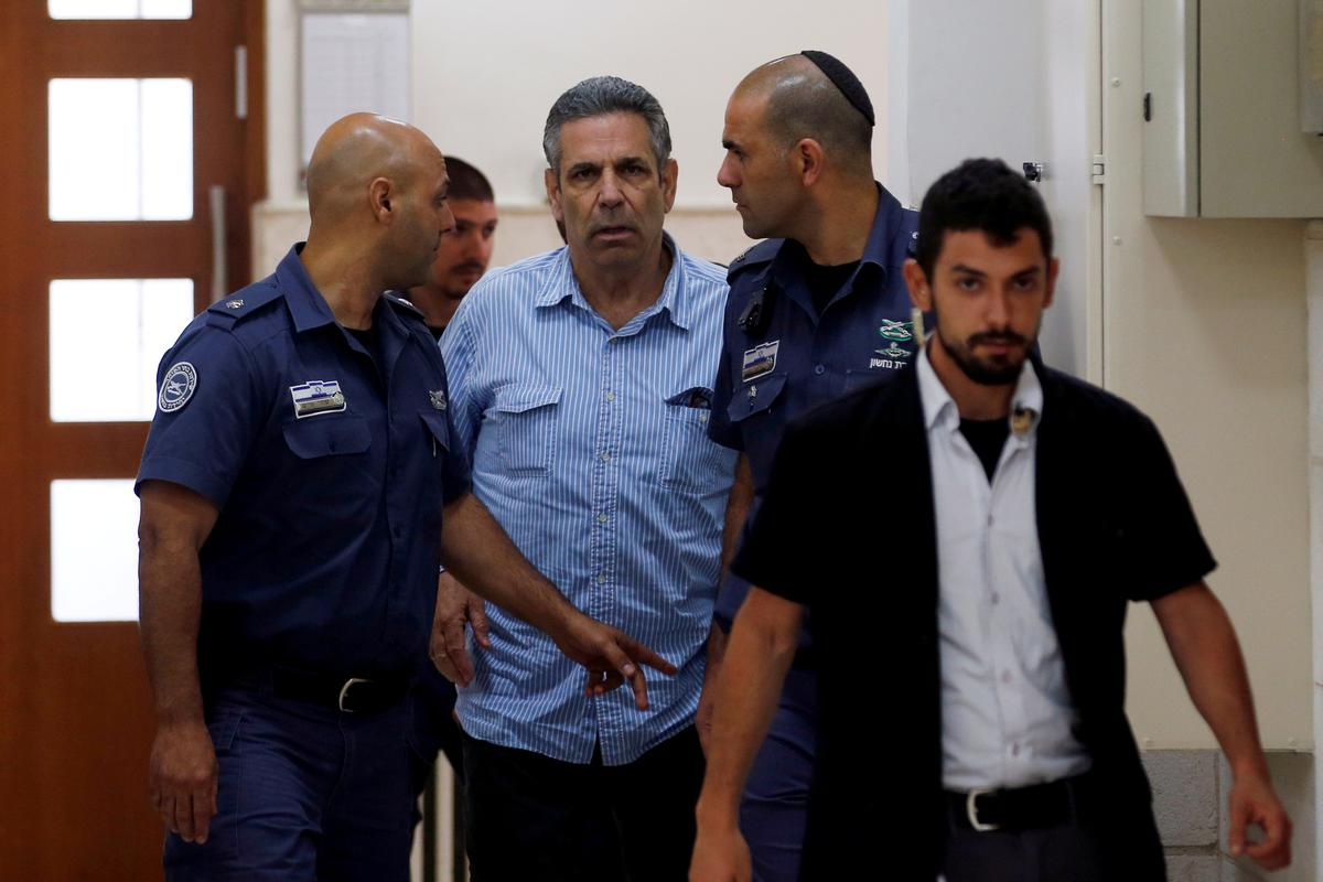 Israeli ex-minister pleads guilty to spying for Iran