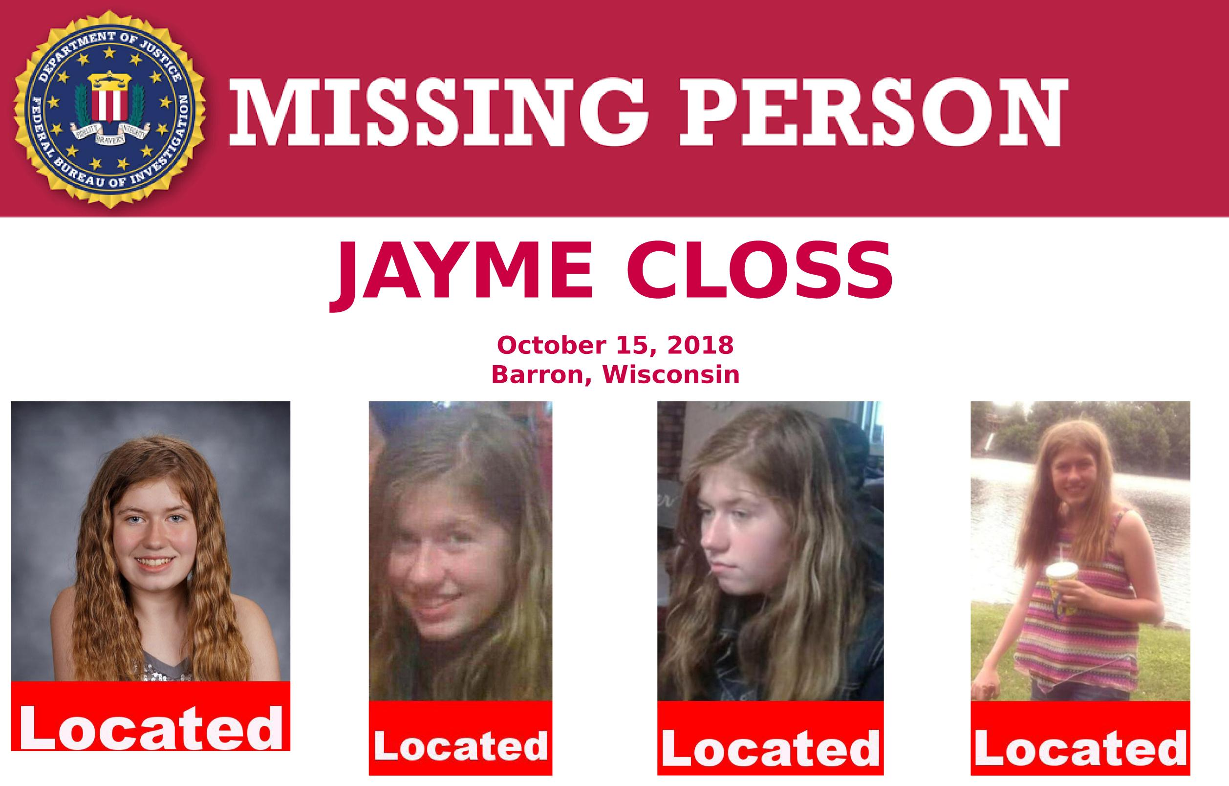 'Jayme is the hero' sheriff says of Wisconsin girl who escaped captor