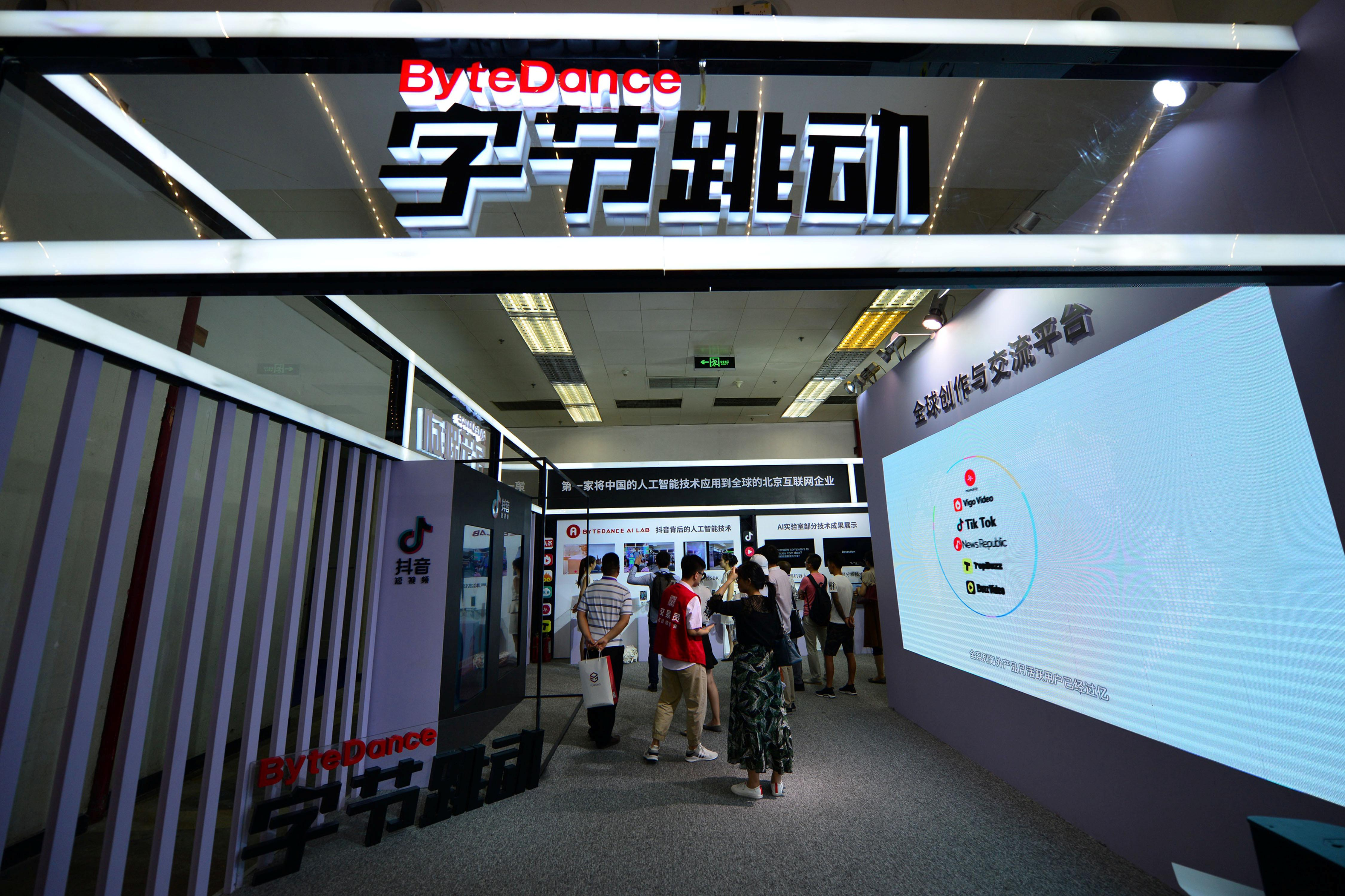 China's ByteDance launches video chat app, moves in on Tencent's turf
