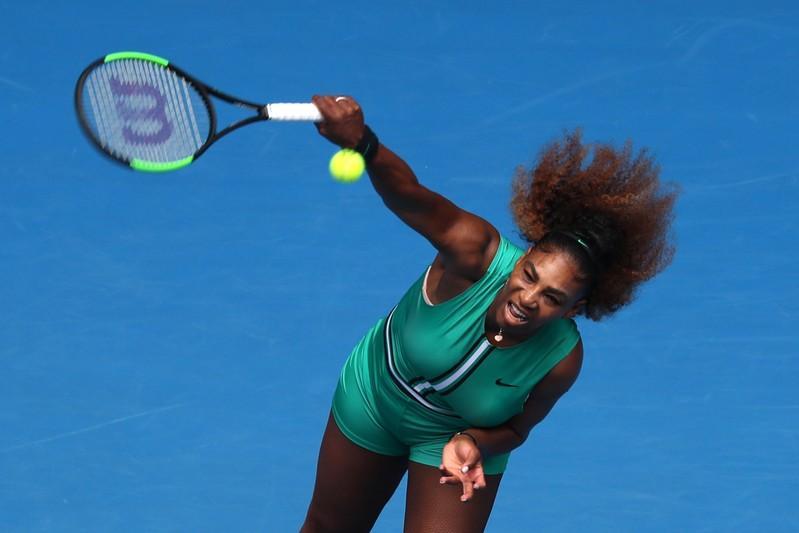 Graf backs Williams to surpass Court's Grand Slam record