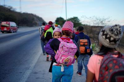New migrant caravan forms in Central America
