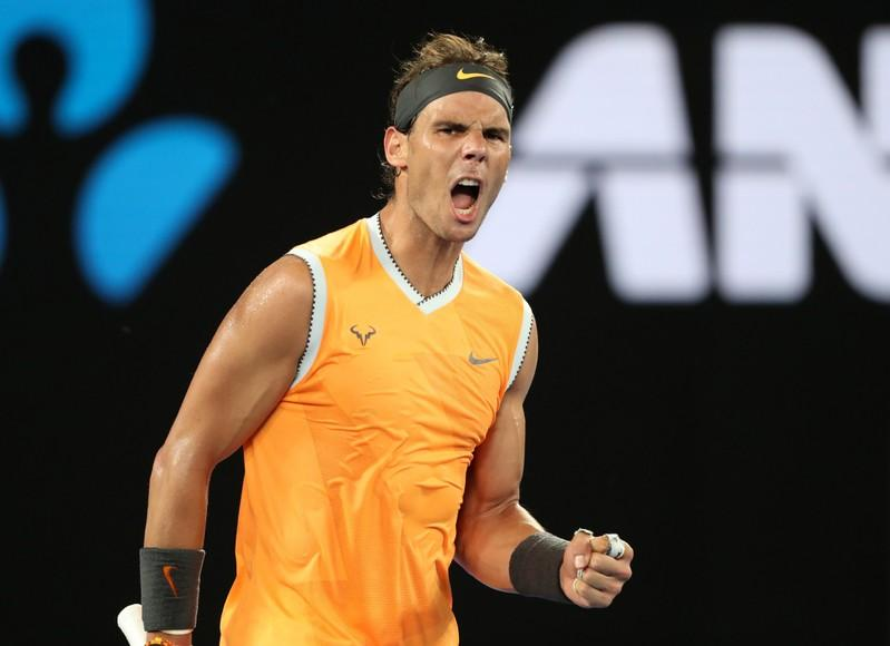 Nadal storms into Melbourne final with Tsitsipas blitz