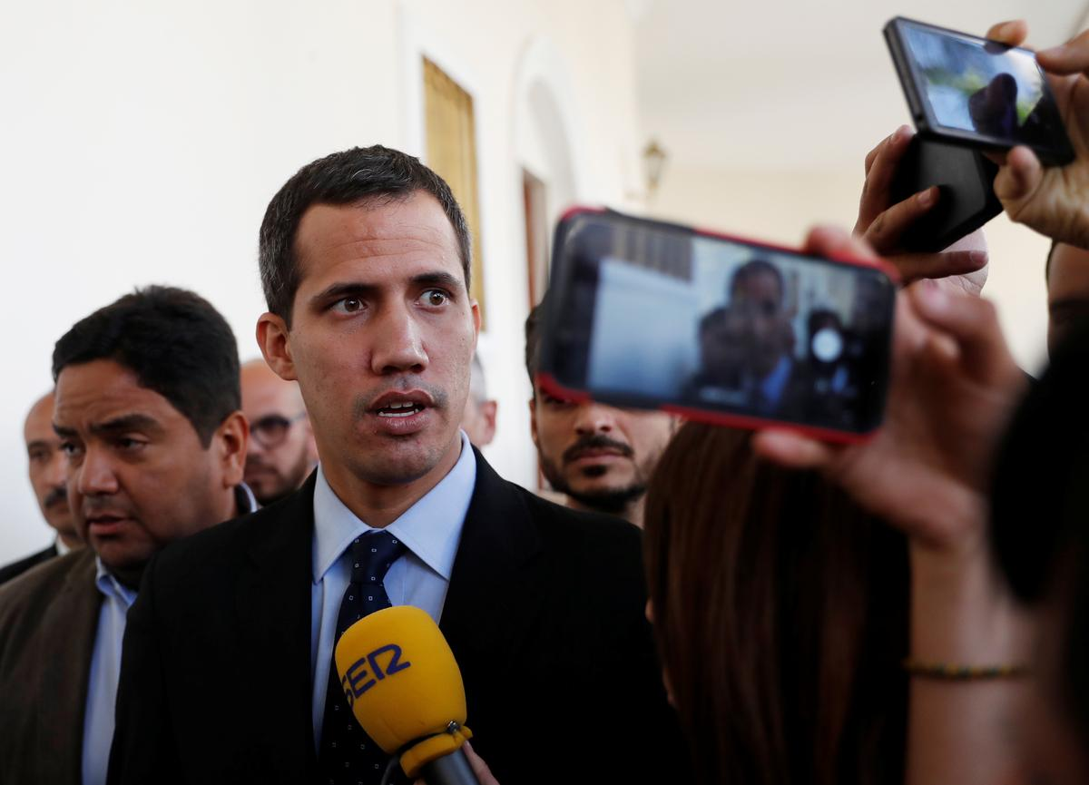 Brazil vice president says Venezuela's Guaido asked for humanitarian aid