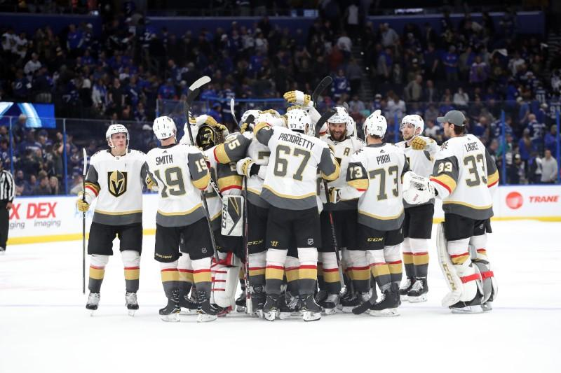 NHL roundup: Knights snap franchise-record skid