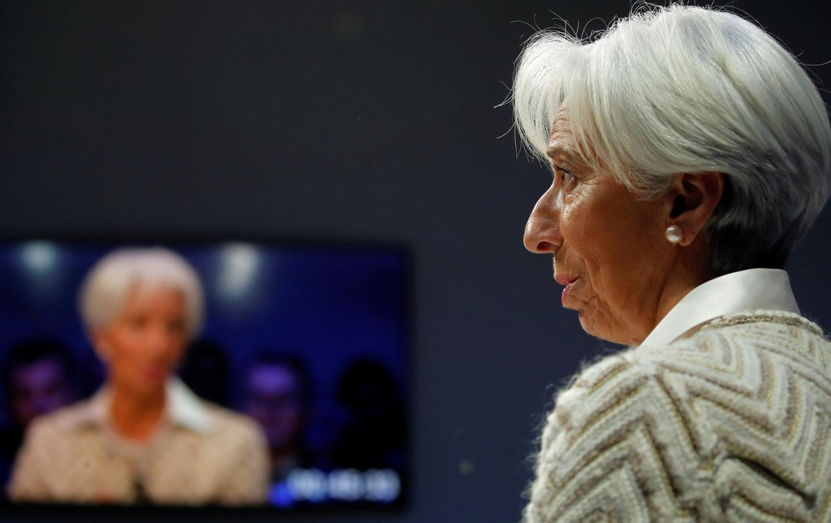 IMF's Lagarde says oil exporters have not fully recovered from oil shock, cautions against 'white elephant projects'