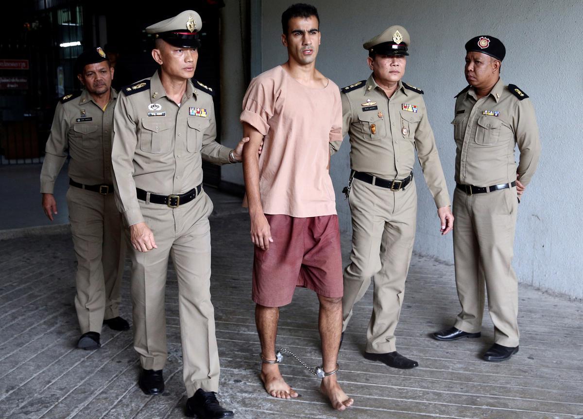 'He is a free man': refugee Bahraini footballer heads home to Australia