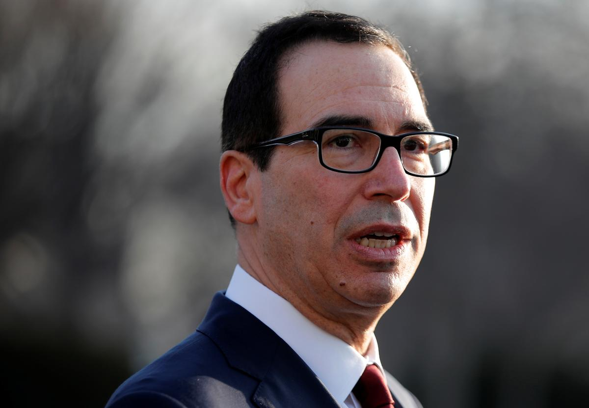 Mnuchin says U.S. had 'productive' trade meetings with China