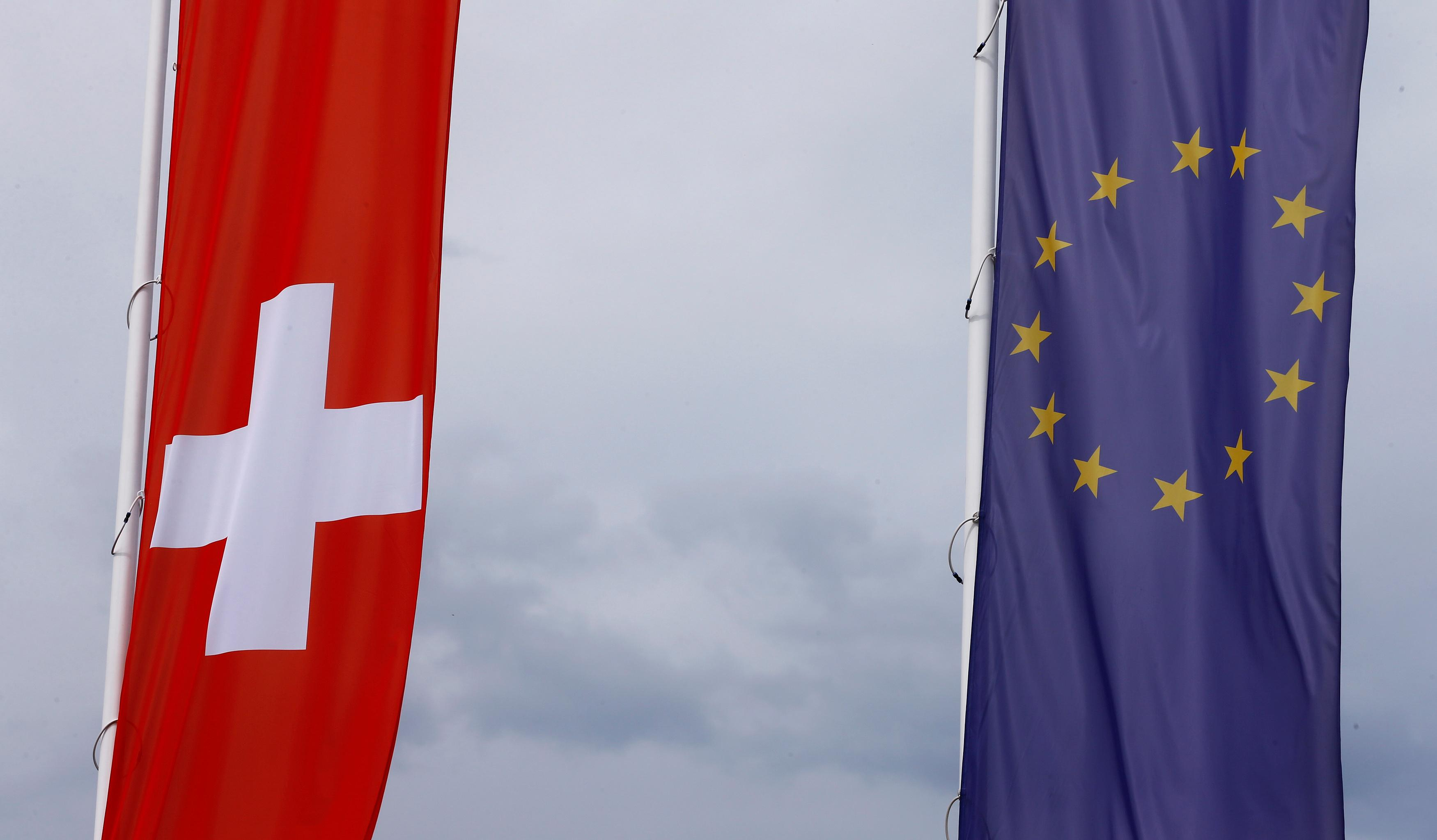 Swiss immigration rises again as ties with EU face test