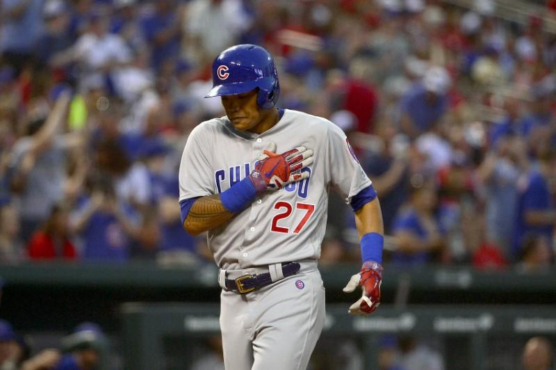 Suspended Cubs SS Russell apologizes for actions
