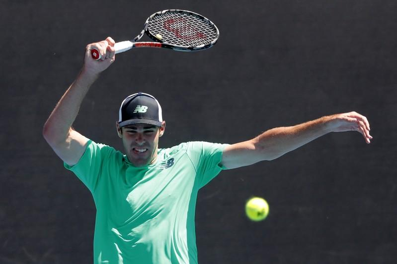 Tennis: Opelka earns first Tour title with New York win over Schnur