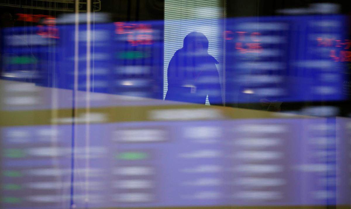 Asia stocks up slightly, eyes on U.S.-China talks, Fed minutes
