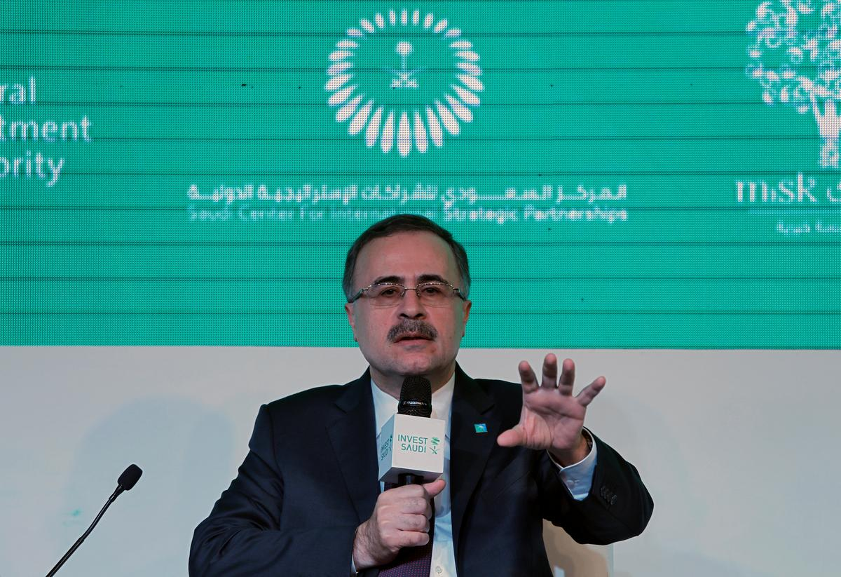 Saudi Aramco to decide in first half on financing SABIC buy: CEO