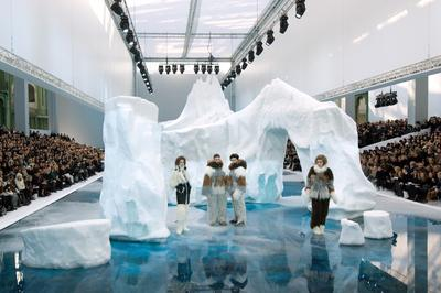 Karl Lagerfeld's art of the runway