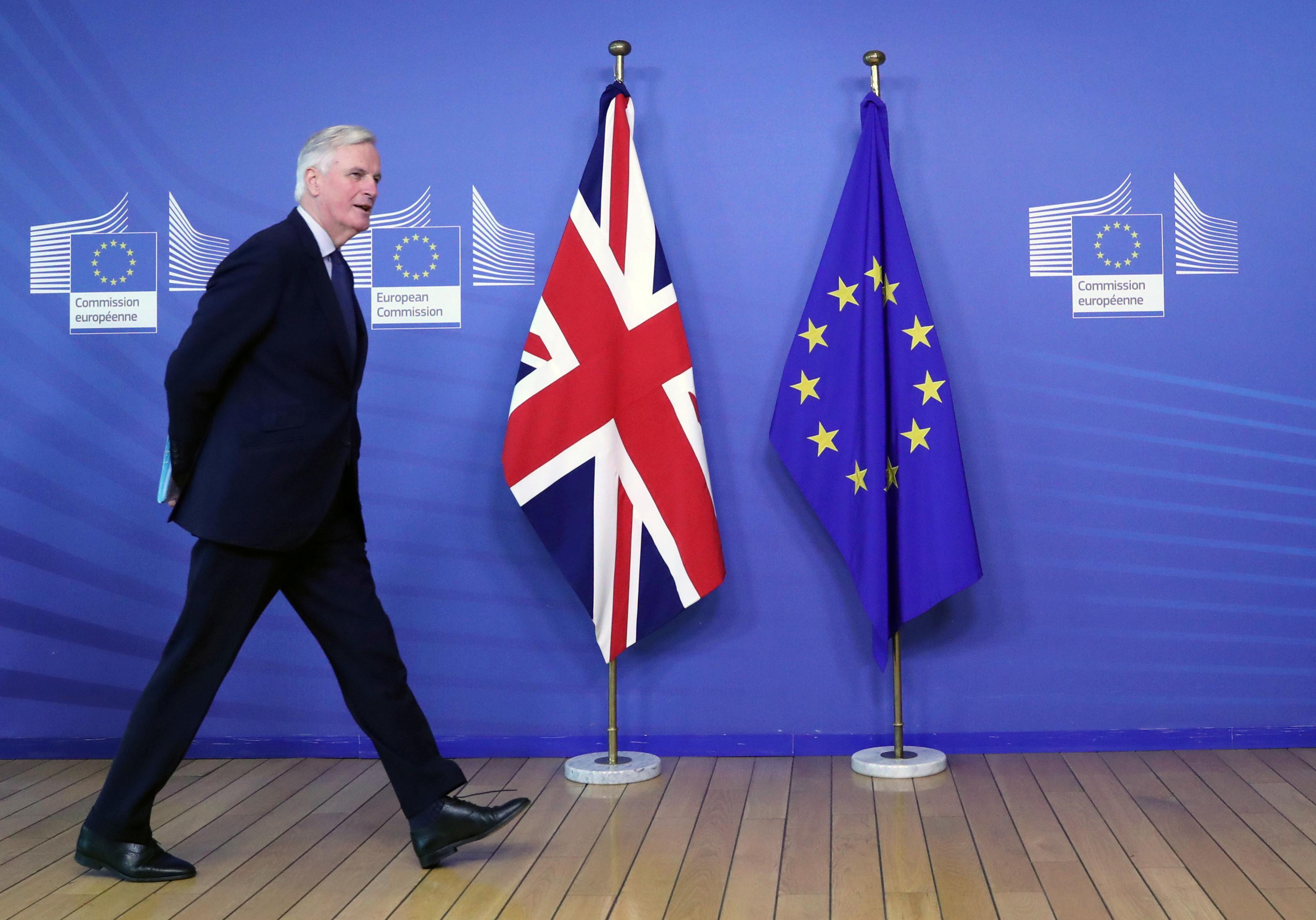EU's Barnier rules out Brexit deal renegotiation - paper