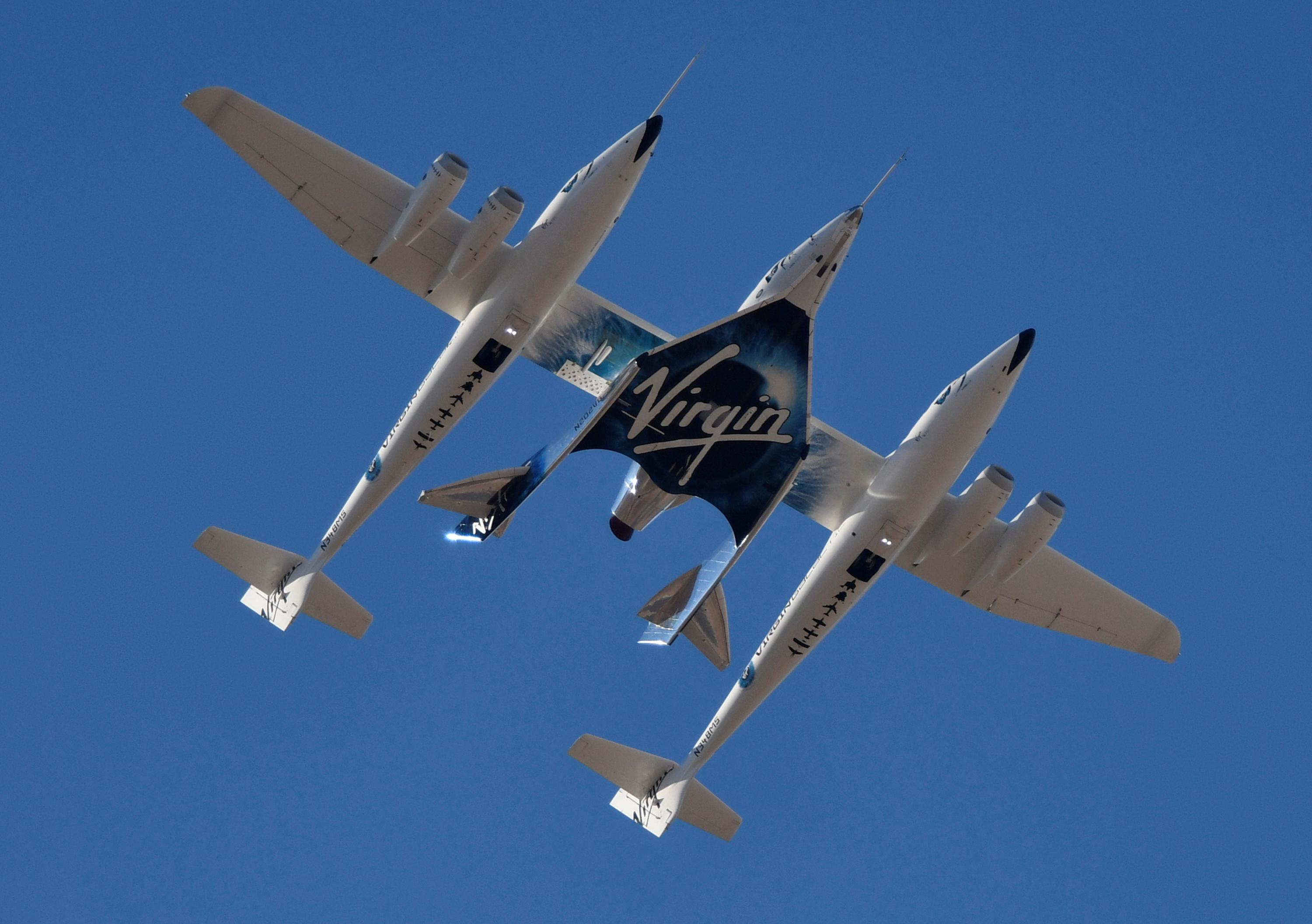 Branson's Virgin Galactic takes another step toward space