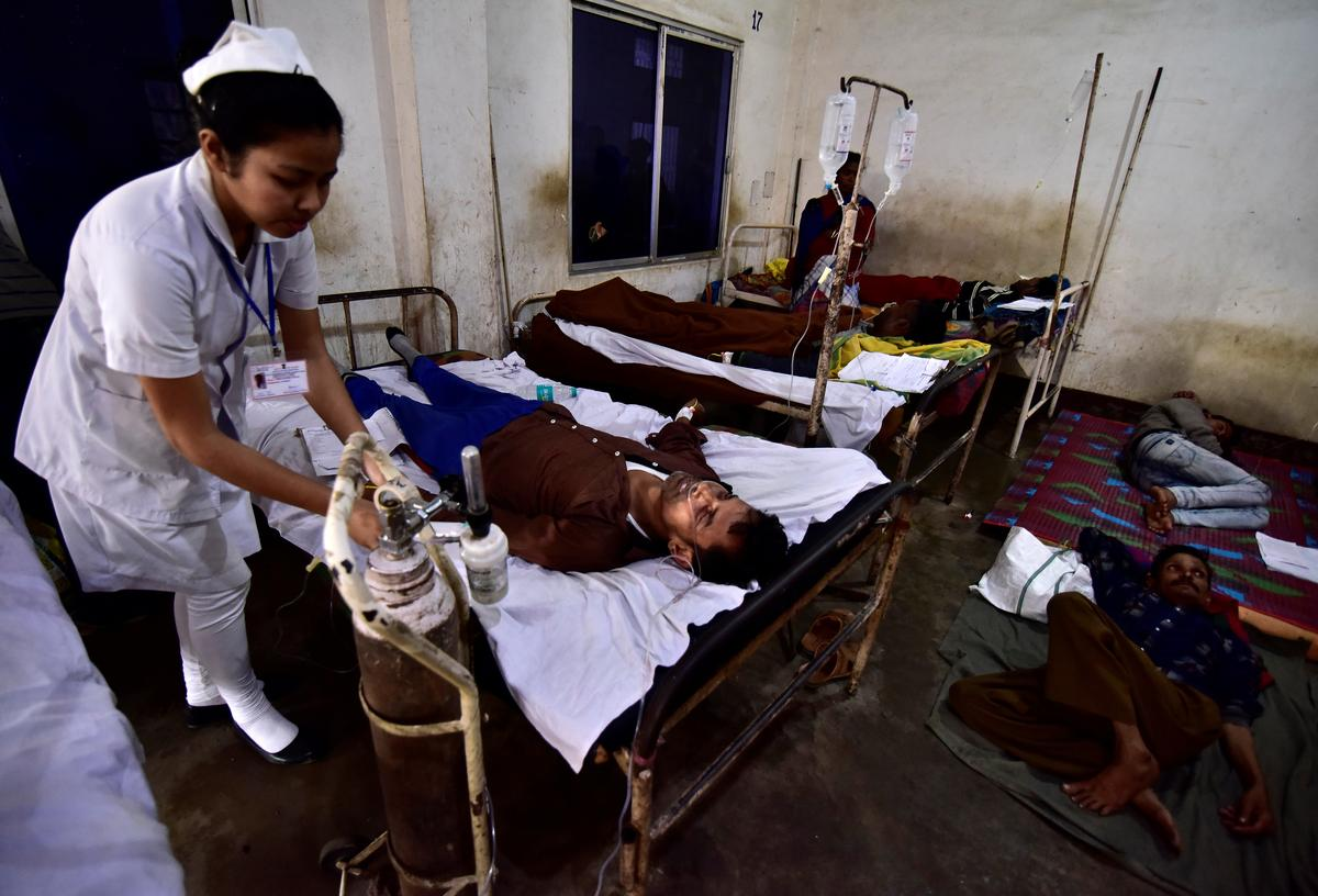 Bootleg liquor kills at least 84 in northeast India, 200 hospitalized