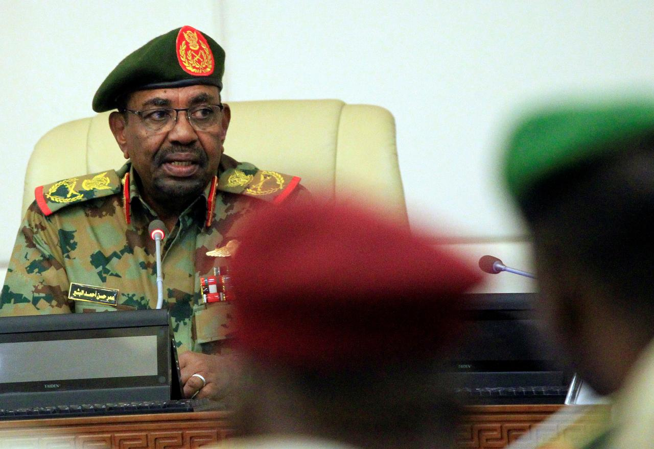 Image result for al bashir in military uniform