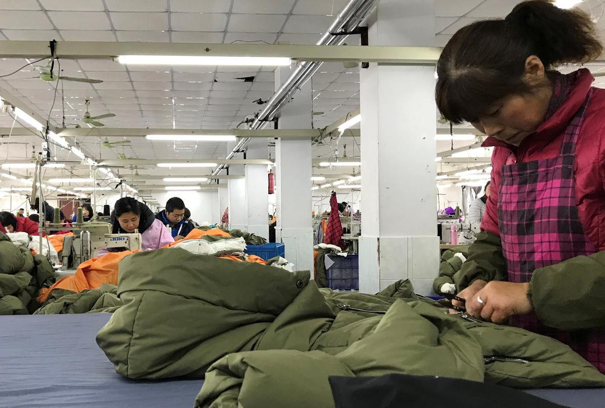 f73d94a2e Chinese firm behind the 'Amazon Coat' hits jackpot in U.S., eschews ...