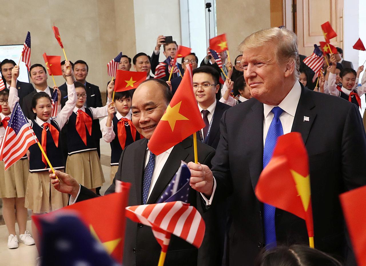 Trump says he appreciates commercial order that Vietnam has made ...