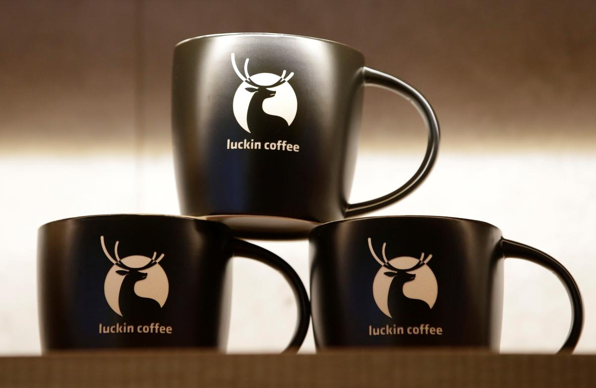 Starbucks' China rival Luckin Coffee taps three banks for ...