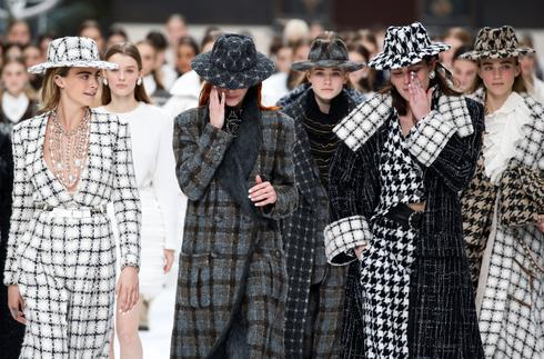 Lagerfeld's last collection for Chanel