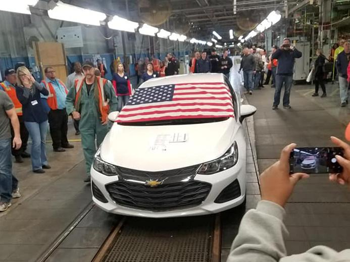 Last Chevrolet Cruze In Ohio Built Amid Gm Restructuring